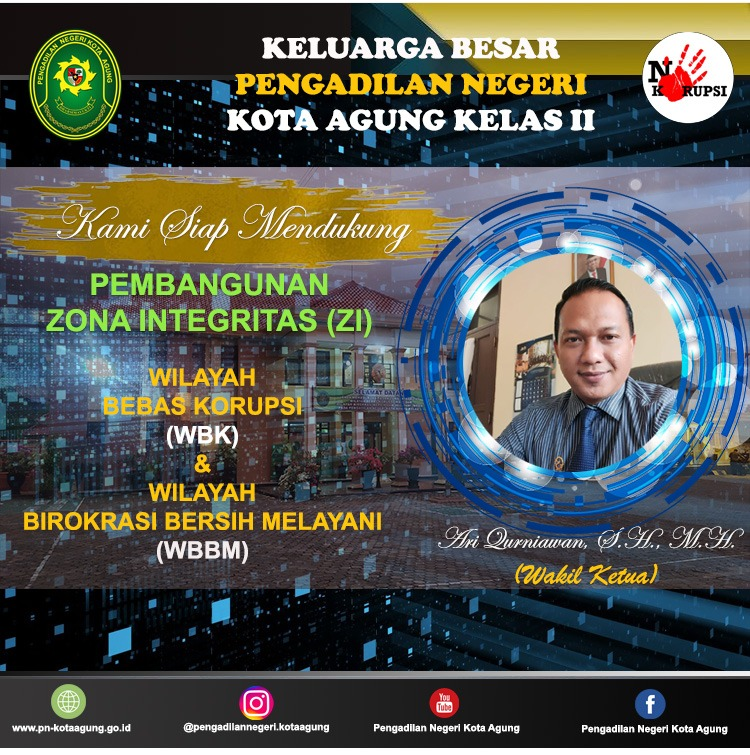 PN Kota Agung Goes To WBK